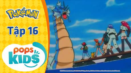 Pokémon S1 - Tập 16: Chìm tàu Pokémon