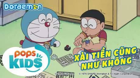 Doraemon S6 - Tập 264: Xài tiền cũng như không!