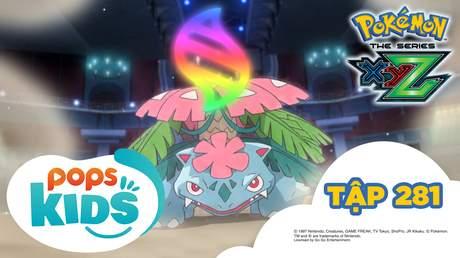 Pokémon S19 - Tập 281: Bản đặc biệt tiến hóa Mega mạnh nhất