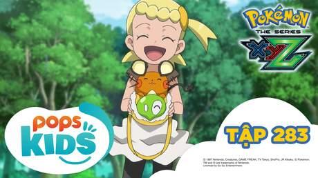 Pokémon S19 - Tập 283: Haribogu máu lửa! Bé Puni bị truy đuổi!