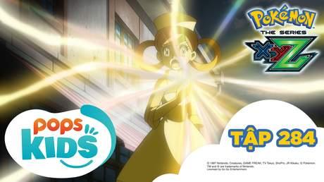 Pokémon S19 - Tập 284: Tabune Mega và Giga Giga Nyasu