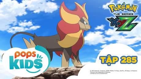 Pokémon S19 - Tập 285: Shishiko và Kaenjishi! Hành trình đầy lửa!