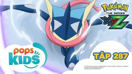 Pokémon S19 - Tập 287: Chào mừng đến với làng Ninja! Truyền thuyết về Gekkoga anh dũng!