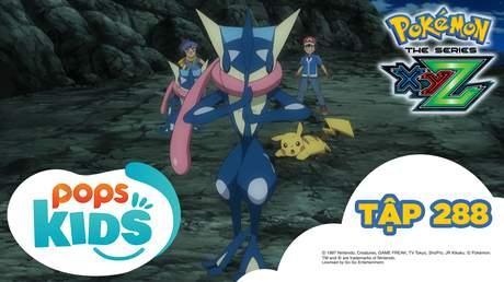 Pokémon S19 - Tập 288: Quyết chiến tại làng Ninja! Gekogashira đối đầu với Kirikizan!