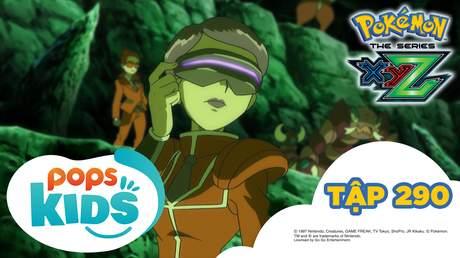 Pokémon S19 - Tập 290: Gặp gỡ tại hang động Tsui. Bí ẩn Z hành động!