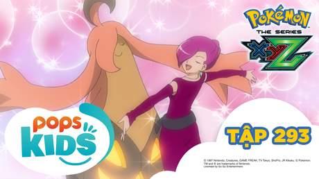 Pokémon S19 - Tập 293: Satoshi và Serena! Thu phục tại tiệc khiêu vũ!
