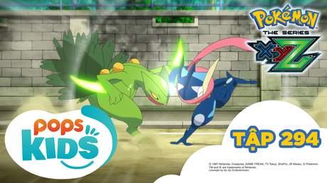 Pokémon S19 - Tập 294: Trận chiến Mega mạnh nhất! Gekkoga đấu Lizardon!