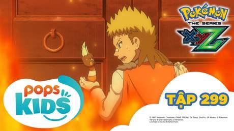 Pokémon S19 - Tập 299: Bên trái bên phải! Kametete của trái tim rung động!