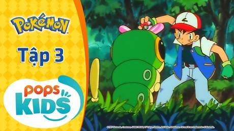 Pokémon S1 - Tập 3: Thu phục Pokémon