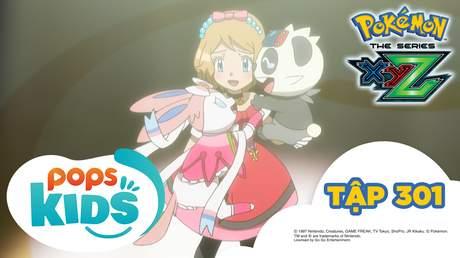 Pokémon S19 - Tập 301: Eru và Serena! Cánh cửa mở ra tương lai!