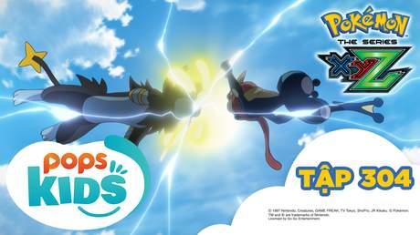 Pokémon S19 - Tập 304: Satoshi và Alan! Gekkouga tái đấu Lizadonmega!