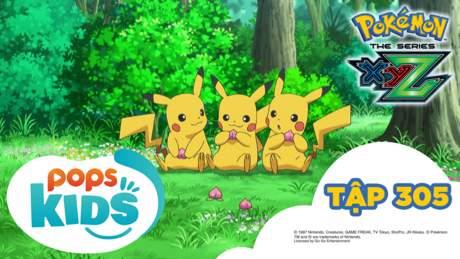 Pokémon S19 - Tập 305: Lời nguyền của khu rừng và Bokure trắng!
