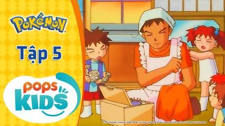 Pokémon S1 - Tập 5: Trận chiến ở nhà thi đấu Nibi