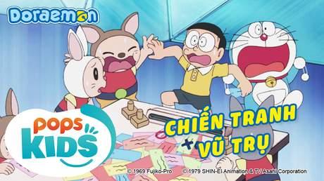 Doraemon S6 - Tập 295: Chiến tranh vũ trụ