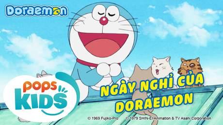 Doraemon S6 - Tập 302: Ngày nghỉ của Doraemon
