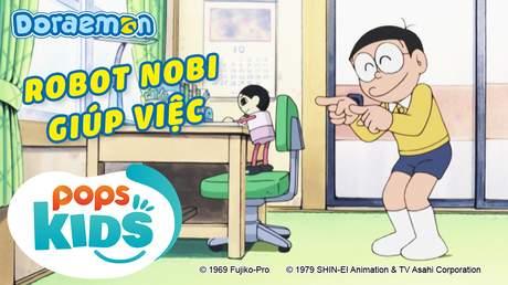 Doraemon S6 - Tập 305: Robot Nobi giúp việc