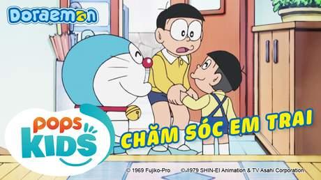 Doraemon S6 - Tập 310: Chăm sóc em trai