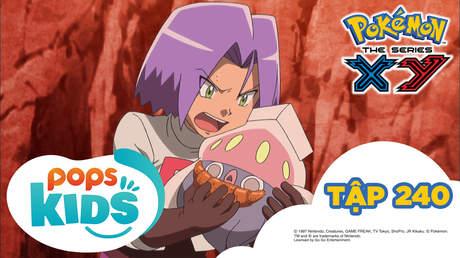 Pokémon S18 - Tập 240: Karamanero đối đầu Maika