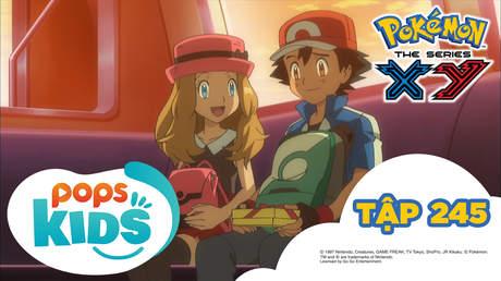 Pokémon S18 - Tập 245: Serena và Satoshi lần đầu hẹn hò