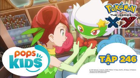 Pokémon S18 - Tập 246: Hướng đến nữ hoàng Kalos!