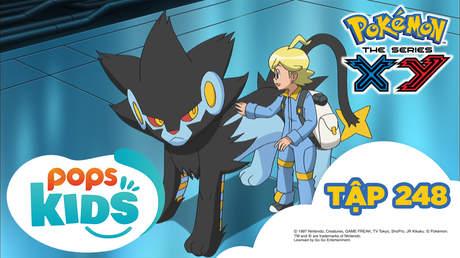 Pokémon S18 - Tập 248: Hãy bảo vệ tương lai của khoa học!