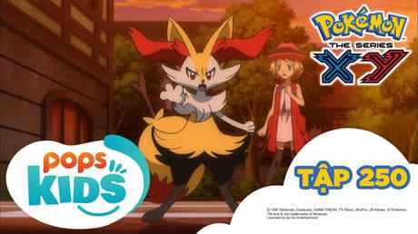 Pokémon S18 - Tập 250: Trận so tài biểu diễn tuyệt đẹp
