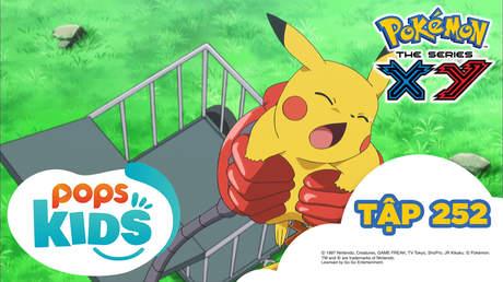 Pokémon S18 - Tập 252: Gặp gỡ Kameil, Raichu Numeiru nỗ lực hết mình