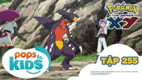 Pokémon S18 - Tập 255: Âm mưu nhằm vào tiến hóa Mega!