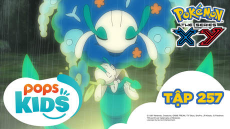 Pokémon S18 - Tập 257: Numerugon hướng về cầu vồng!