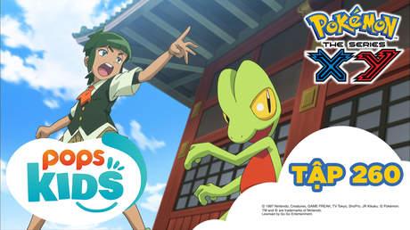 Pokémon S18 - Tập 260: Trận đấu tại buổi biểu diễn thời trang!