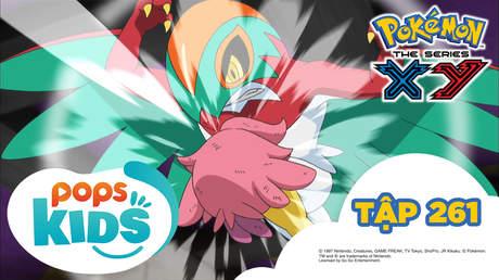 Pokémon S18 - Tập 261: Trận chiến nhà thi đấu Kunoe!