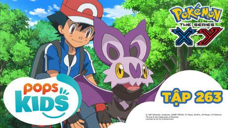 Pokémon S18 - Tập 263: Gió, trứng và Onbatto