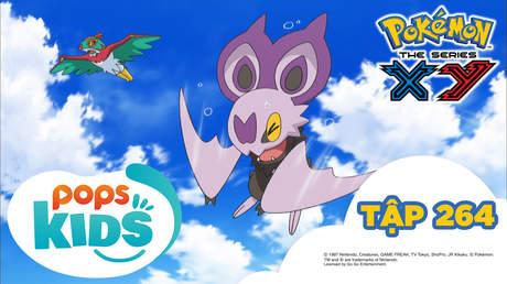 Pokémon S18 - Tập 264: Thử sức đường bay tiếp sức Pokémon!