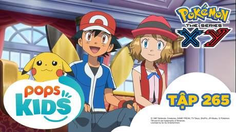 Pokémon S18 - Tập 265: Pikachu là ngôi sao? Tham gia đóng phim!