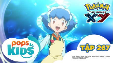Pokémon S18 - Tập 267: Teruna và Yanchamu! Hãy biểu diễn ngọn lửa quyến rũ!