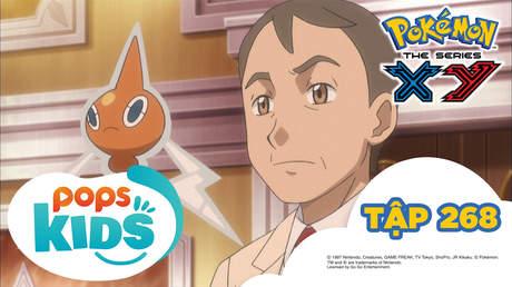 Pokémon S18 - Tập 268: Vượt qua thời gian Satoshi!