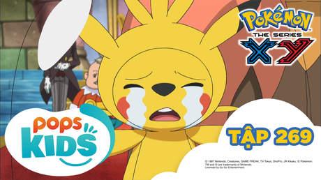 Pokémon S18 - Tập 269: Lễ hội Pampujin! Tạm biệt Baketcha?