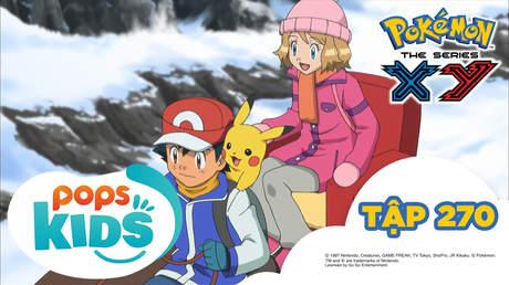 Pokémon S18 - Tập 270: Vượt qua núi tuyết! Mammoo và Yukinooh