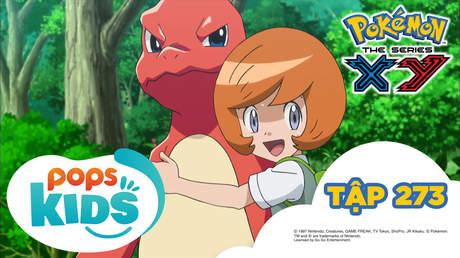 Pokémon S18 - Tập 273: Fire! Hãy chụp hình huyền thoại!
