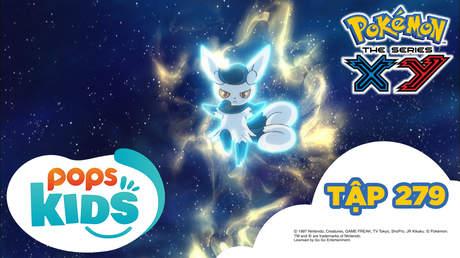 Pokémon S18 - Tập 279: Trận chiến đồng hồ mặt trời khổng lồ!!