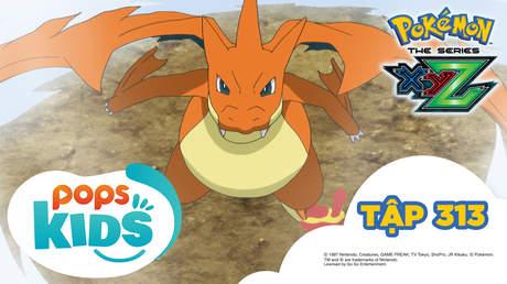 Pokémon S19 - Tập 313: Khai mạc giải Liên đoàn Kalos! Lizardon Mega đối đầu X và Y!