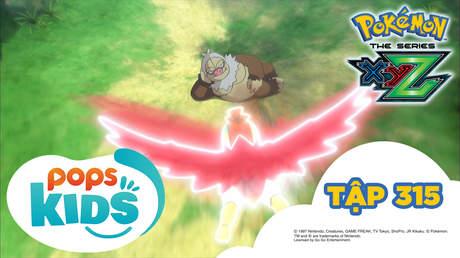 Pokémon S19 - Tập 315: Trận bán kết! Satoshi đấu với Shota!
