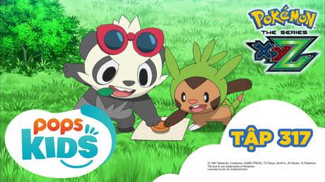 Pokémon S19 - Tập 317: Cuộc chiến khốc liệt ở giải liên đoàn Kalos! Tập hợp tất cả cảm xúc cuồng nhiệt!