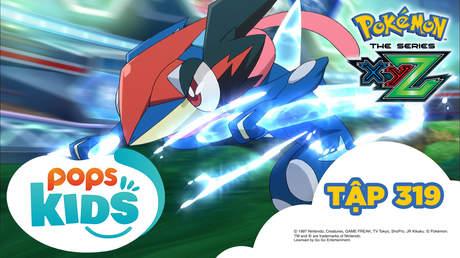 Pokémon S19 - Tập 319: Vô địch giải liên đoàn Kalos! Trận chiến tuyệt vời nhất của Satoshi!