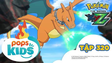 Pokémon S19 - Tập 320: Băng ánh lửa tập kích! Zygarde ở tháp lăng kính