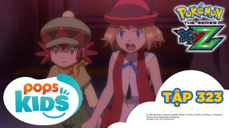 Pokémon S19 - Tập 323: Cự Thạch tấn công! Tuyến phòng ngữ Kalos!