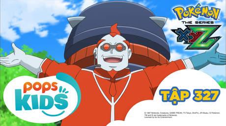 Pokémon S19 - Tập 327: Tạm biệt Satoshi - Gekkouga! Kuseroshiki phản công