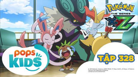 Pokémon S19 - Tập 328: Con số 0 không hồi kết! hẹn ngày gặp lại!