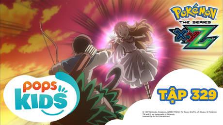 Pokémon S19 - Tập 329: Truyền thuyết về XYZ