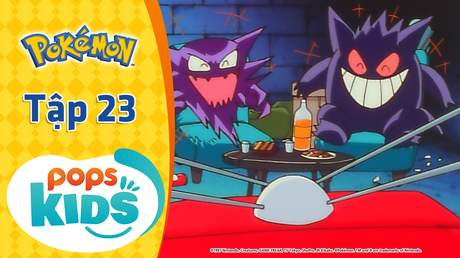 Pokémon S1 - Tập 23: Thu phục ở tháp Pokémon